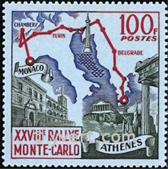 n° 510 -  Timbre Monaco Poste