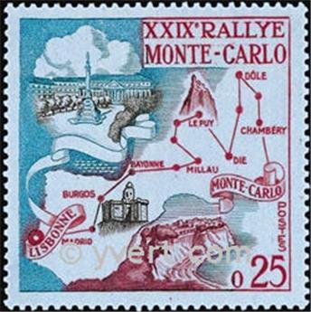 n° 524 -  Timbre Monaco Poste