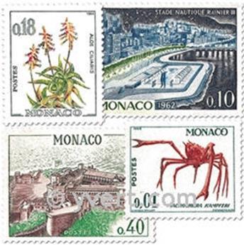 n° 537A/550A -  Selo Mónaco Correios