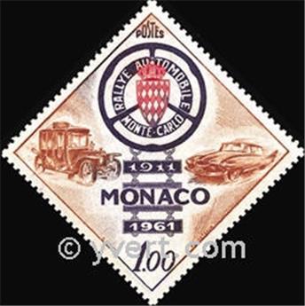 n.o 555 -  Sello Mónaco Correos