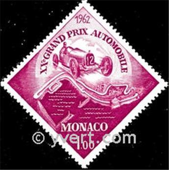 n° 574 -  Selo Mónaco Correios