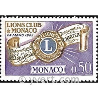 n° 613 -  Timbre Monaco Poste