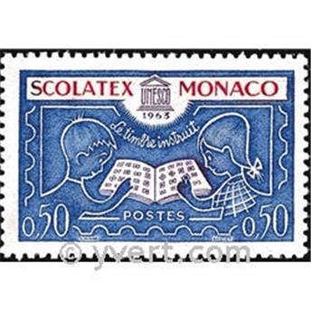 n.o 617 -  Sello Mónaco Correos