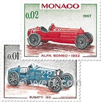 nr. 708/721 -  Stamp Monaco Mail