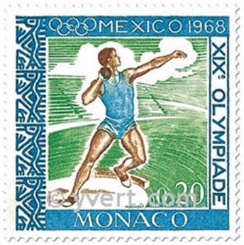 n° 736/741 -  Timbre Monaco Poste