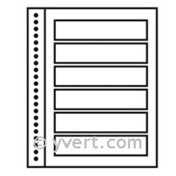 Recargas ´Reto-Verso Duo-Supra´: 6 tiras