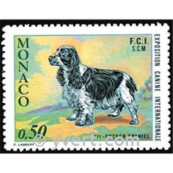 n° 862 -  Selo Mónaco Correios