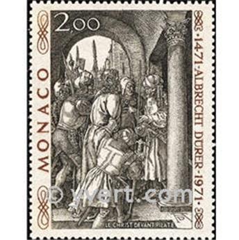 n° 876 -  Selo Mónaco Correios