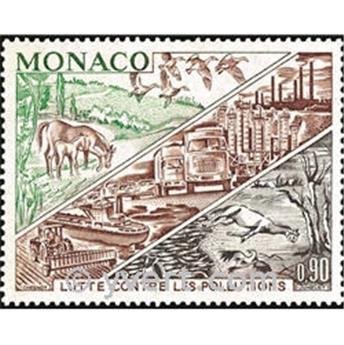 n° 881 -  Selo Mónaco Correios