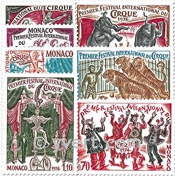 nr. 973/979 -  Stamp Monaco Mail