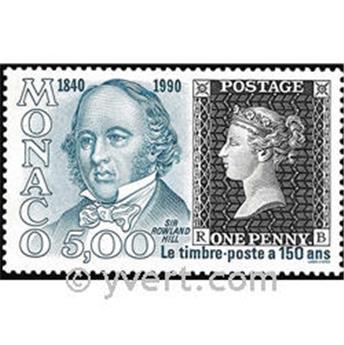 n.o 1719 -  Sello Mónaco Correos