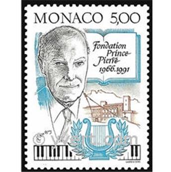 n° 1777 -  Selo Mónaco Correios