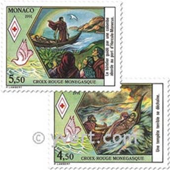 n.o 1797/1798 -  Sello Mónaco Correos