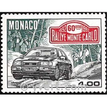 n.o 1816 -  Sello Mónaco Correos