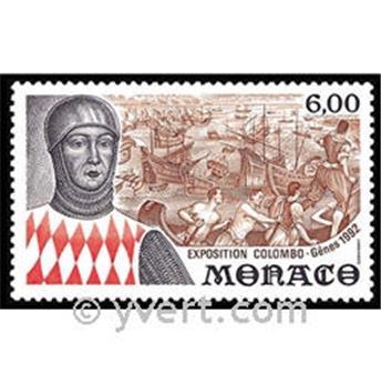 n.o 1829 -  Sello Mónaco Correos