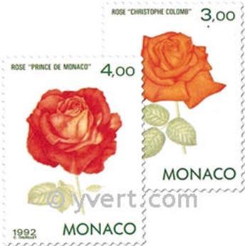 n.o 1839/1840 -  Sello Mónaco Correos