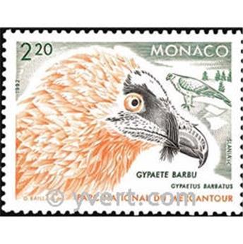 n.o 1849 -  Sello Mónaco Correos