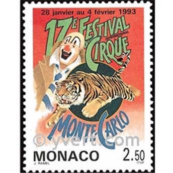 n° 1854 -  Timbre Monaco Poste