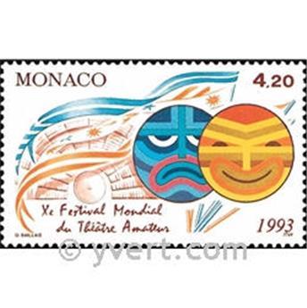 n.o 1869 -  Sello Mónaco Correos