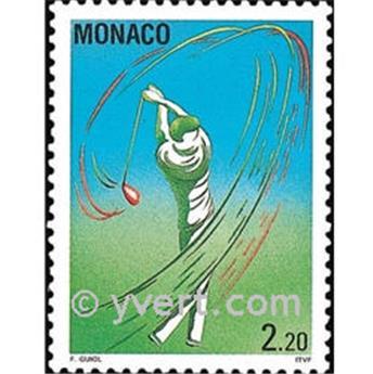 n° 1873 -  Timbre Monaco Poste
