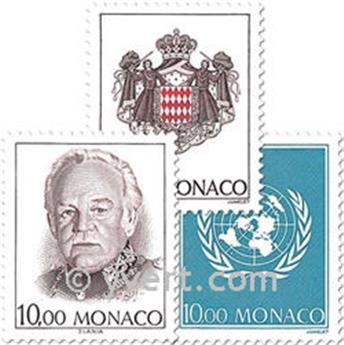 n° 1885/1887 (BF 62) -  Timbre Monaco Poste
