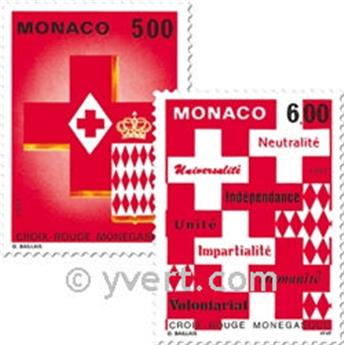 n° 1906/1907 -  Timbre Monaco Poste