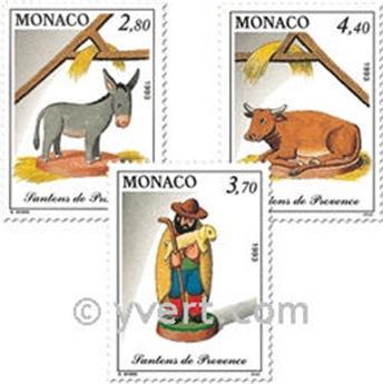 n° 1912/1914 -  Timbre Monaco Poste