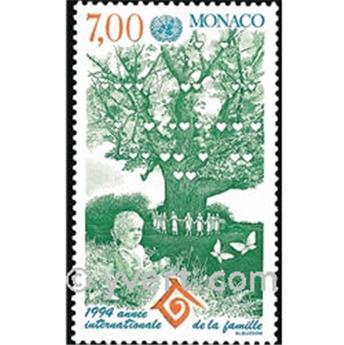 n° 1939 -  Timbre Monaco Poste