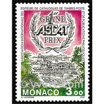 n° 1943 -  Timbre Monaco Poste