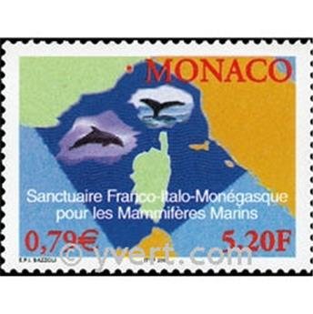 n.o 2287 -  Sello Mónaco Correos