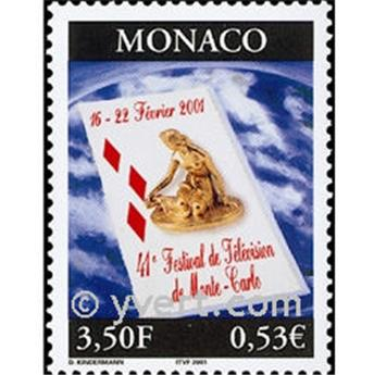 n° 2295 -  Selo Mónaco Correios