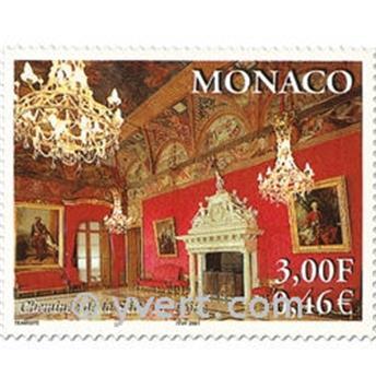 n° 2310/2313 -  Selo Mónaco Correios