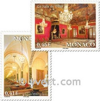 n° 2331/2333 -  Selo Mónaco Correios