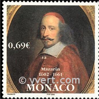 n° 2340 -  Selo Mónaco Correios