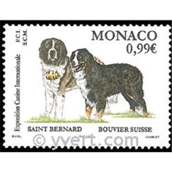 n° 2344 -  Selo Mónaco Correios