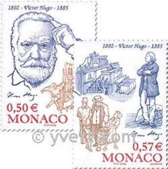 n.o 2361/2362 -  Sello Mónaco Correos