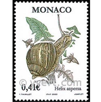 n° 2377 -  Selo Mónaco Correios