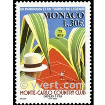n.o 2386 -  Sello Mónaco Correos