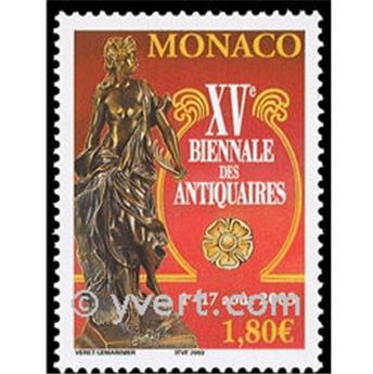 n° 2397 -  Selo Mónaco Correios