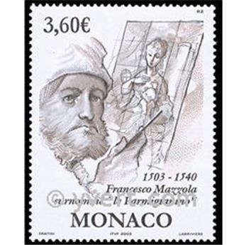 n.o 2402 -  Sello Mónaco Correos
