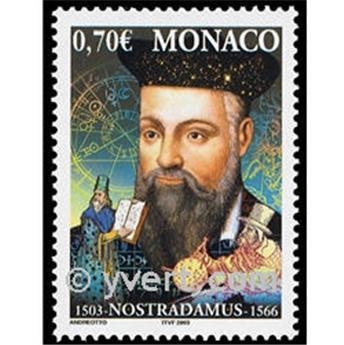 n° 2406 -  Selo Mónaco Correios