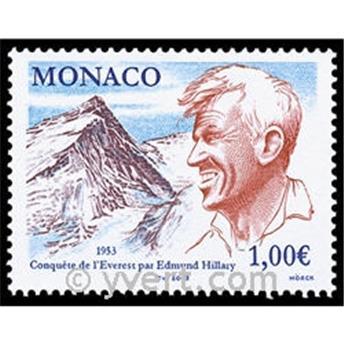 n° 2414 -  Selo Mónaco Correios