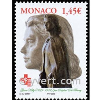 n° 2427 -  Selo Mónaco Correios