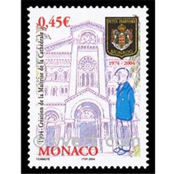 n° 2432 -  Selo Mónaco Correios