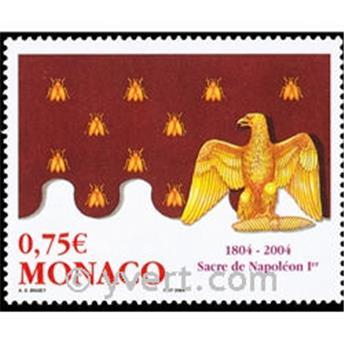 n° 2443 -  Selo Mónaco Correios