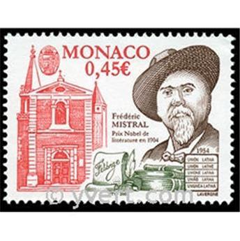 n° 2448 -  Selo Mónaco Correios