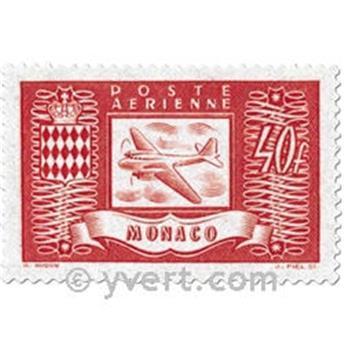 n° 15/18 -  Timbre Monaco Poste aérienne