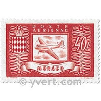 nr. 15/18 -  Stamp Monaco Air Mail