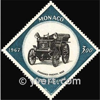 n.o 91 -  Sello Mónaco Correo aéreo