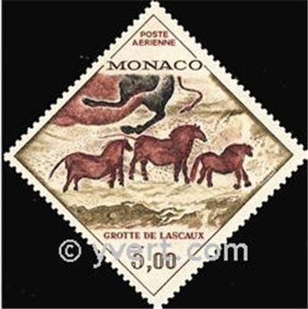 n.o 95 -  Sello Mónaco Correo aéreo